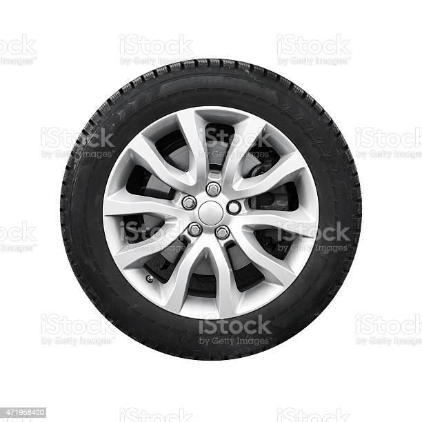New shiny automotive wheel on light alloy disc isolated picture id471958420?b=1&k=6&m=471958420&s=612x612&h=a4joouqr smkvzefy7toq95w4iwzd4tzqrmpxfcam0m=