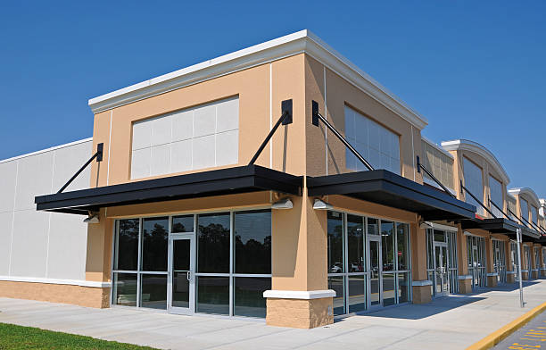 novo shopping center - arranha céu - fotografias e filmes do acervo