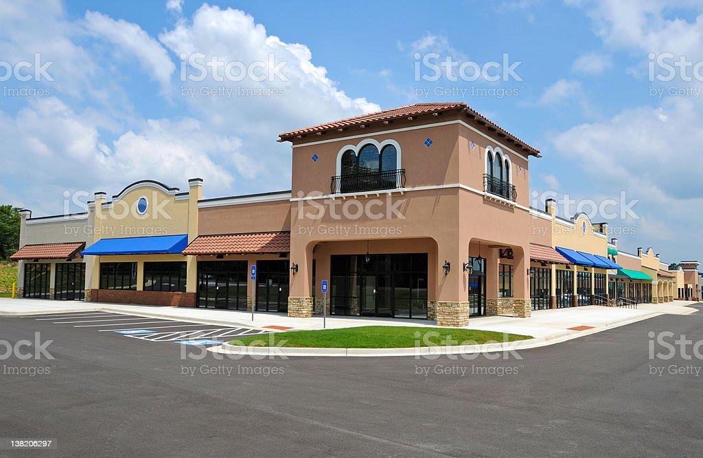 New Shopping Center stock photo