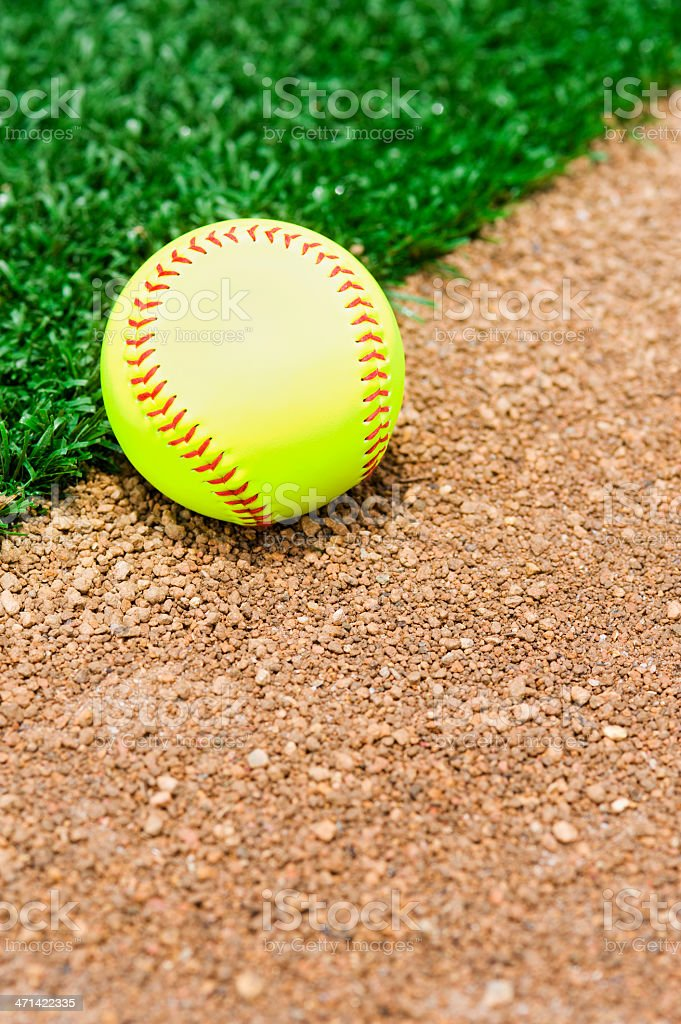 New Softball stock photo