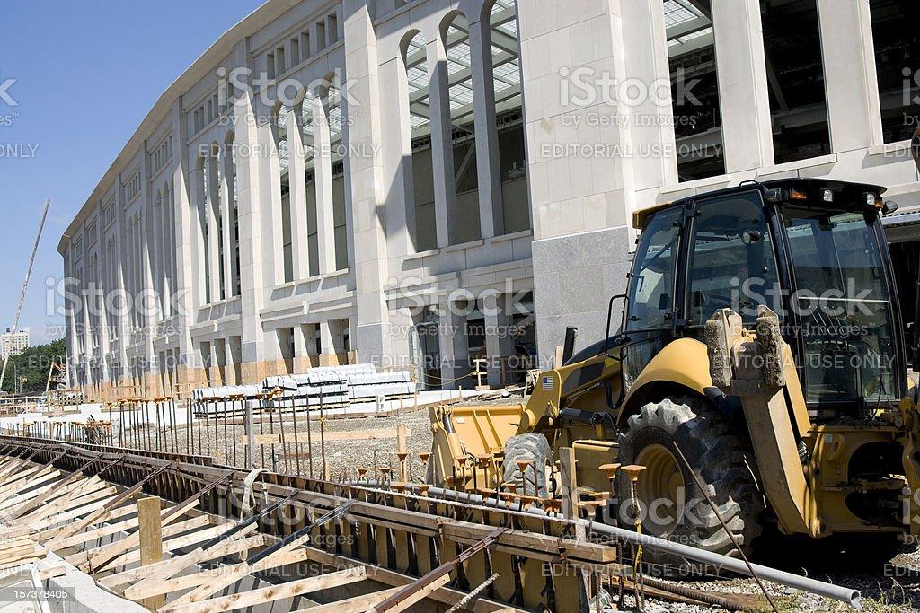 New Stadium Construction royalty-free stock photo
