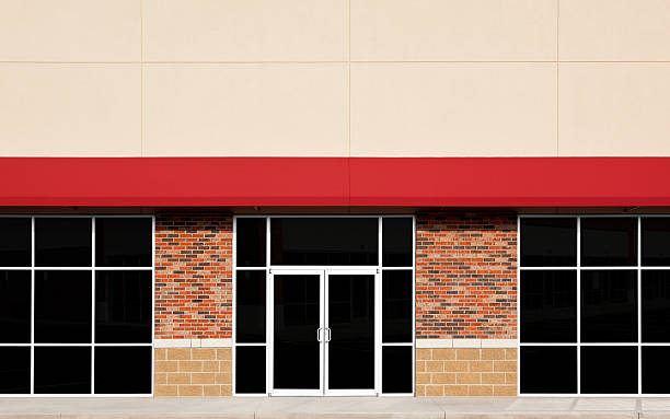 new store front - store window stock pictures, royalty-free photos & images
