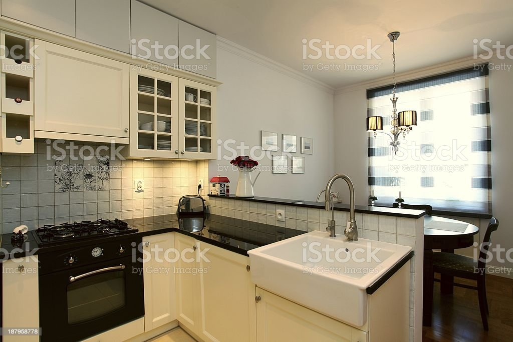 New stylish kitchen stock photo