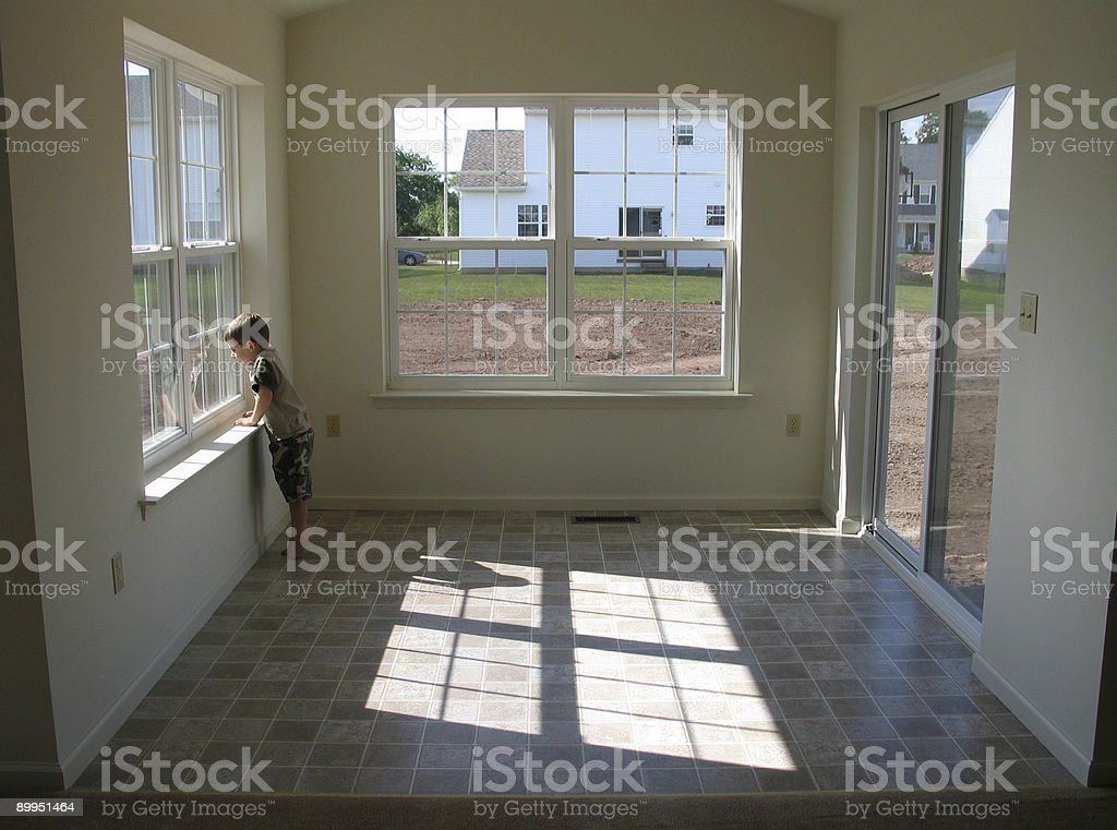 New Sunroom stock photo