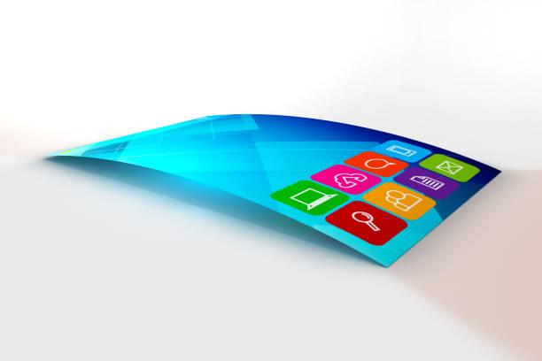 Neues Super Slim und flexibles Telefon – Foto