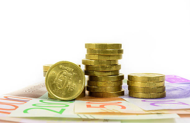 Schwedische Geldmünze Bilder Und Stockfotos Istock
