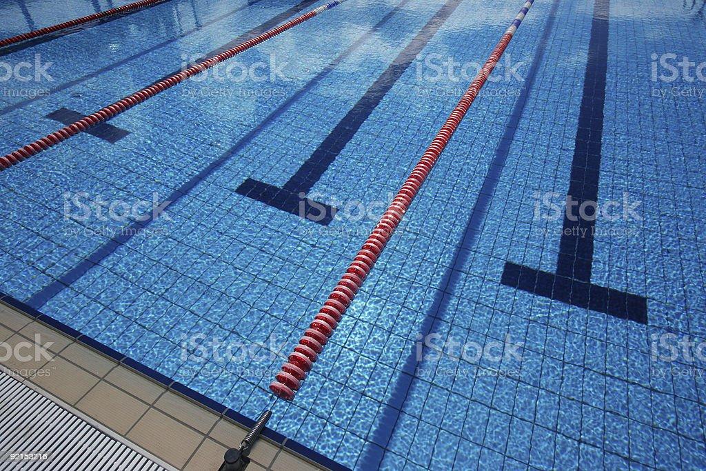 new swimming pool stock photo