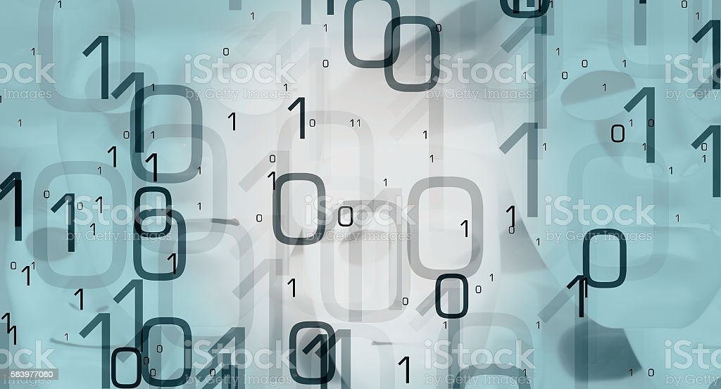 New tech abstract backdrop - foto de stock