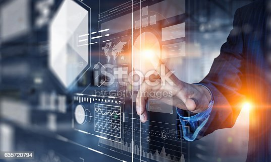 istock New technologies for business . Mixed media 635720794