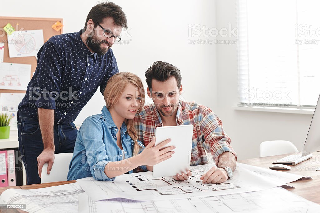 New technologies in business are necessary stock photo