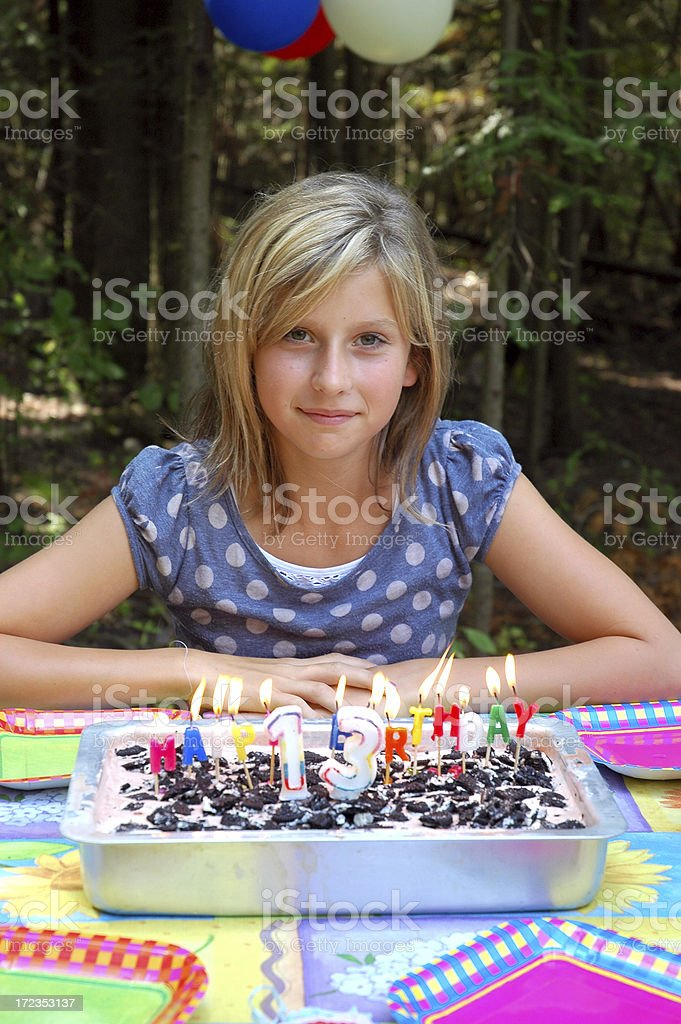 New Teen royalty-free stock photo