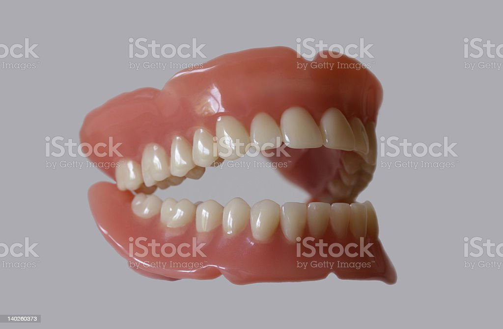 new teeth royalty-free stock photo