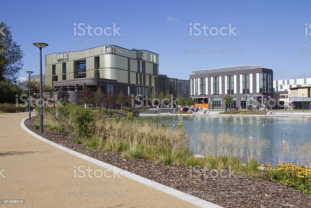 New Telford town centre development. stock photo