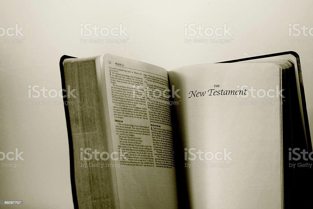 New Testament royalty-free stock photo