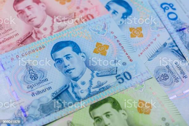 New Thai Baht Currency — стоковые фотографии и другие картинки 100
