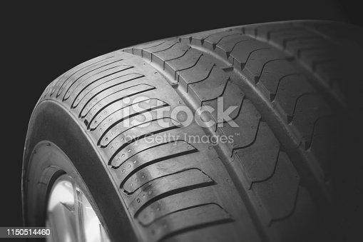 496485590 istock photo New tire 1150514460