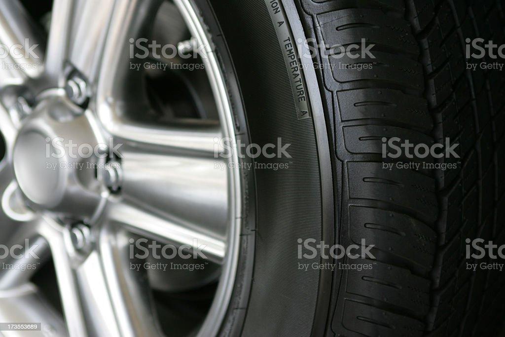 New tire stock photo