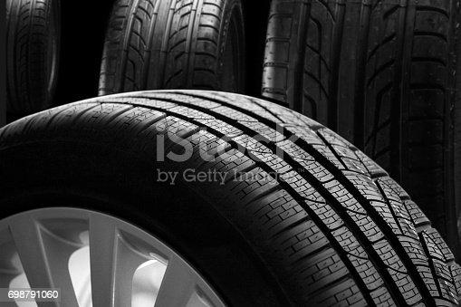 496485590 istock photo New tire 698791060