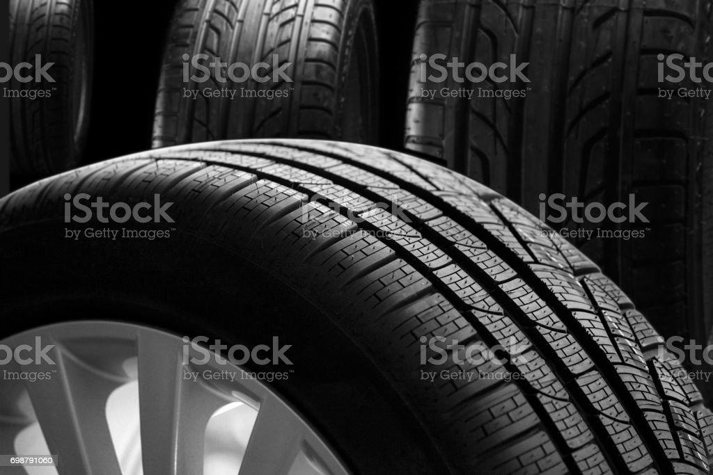 Neue Reifen – Foto