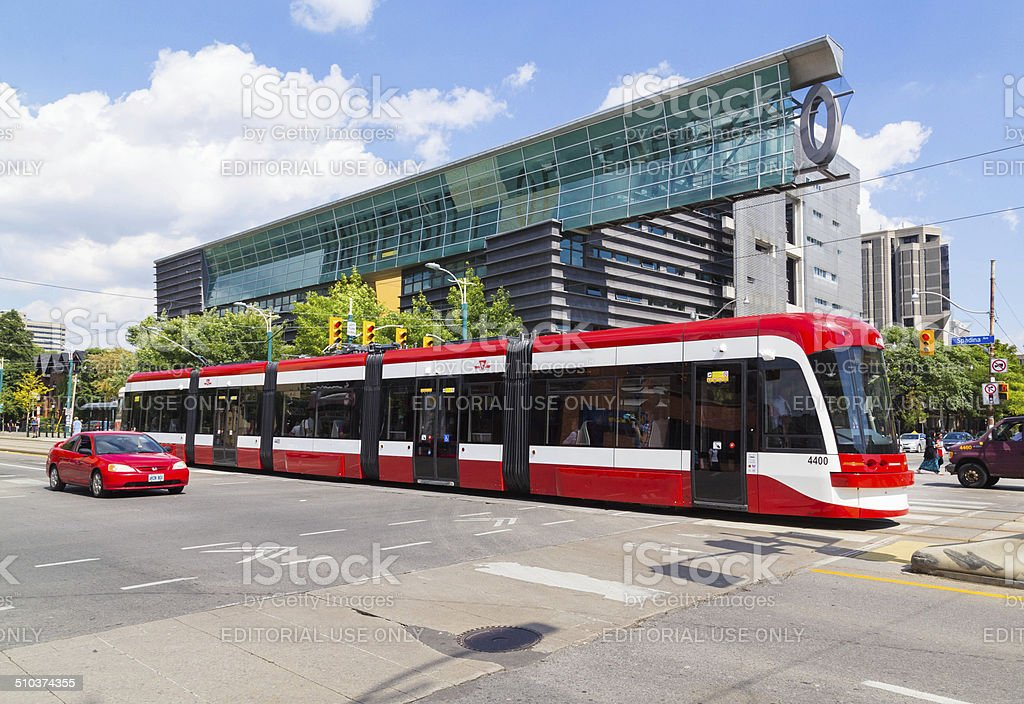 New Toronto Street Car stock photo
