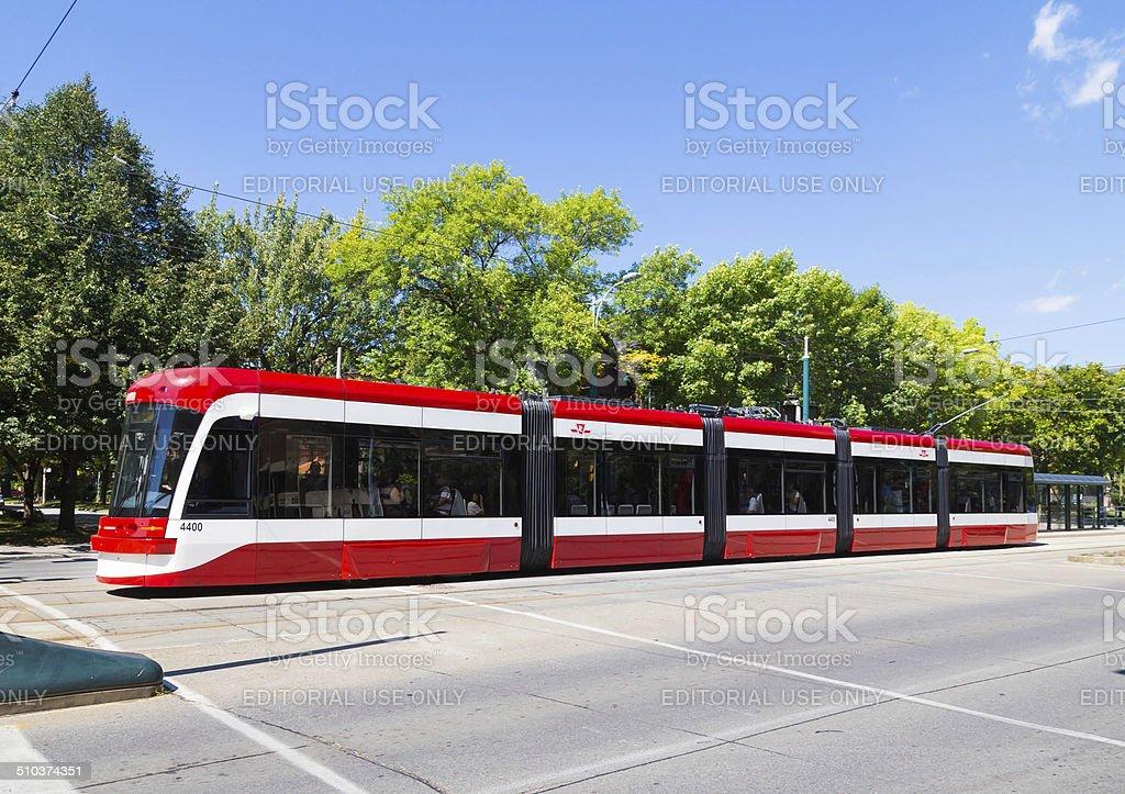 New Toronto Street Cars stock photo