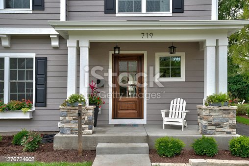 istock New tour home with perfect landscaped yard 1276724602