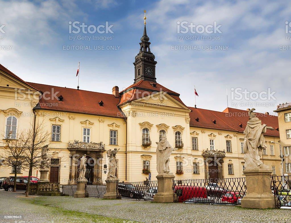 New Town Hall in Brno, Chech Republic. stock photo