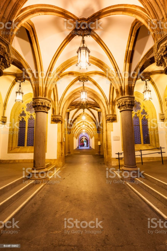 New Town Hall in Munich Germany stock photo