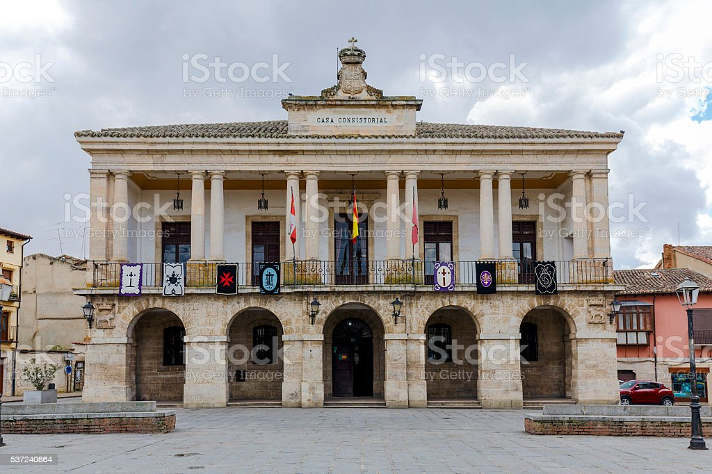 New Town Hall of Zamora, Spain stock photo