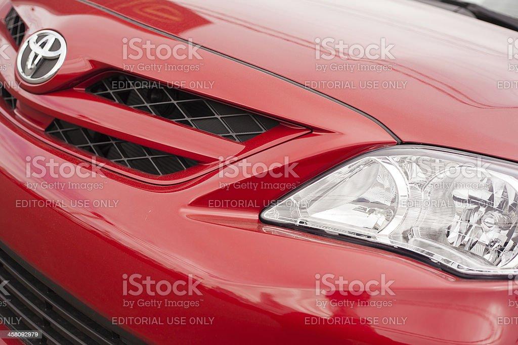 New Toyota Corolla stock photo