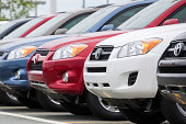 istock New Toyota Rav4 Vehicles in a Row at Car Dealership 470172239