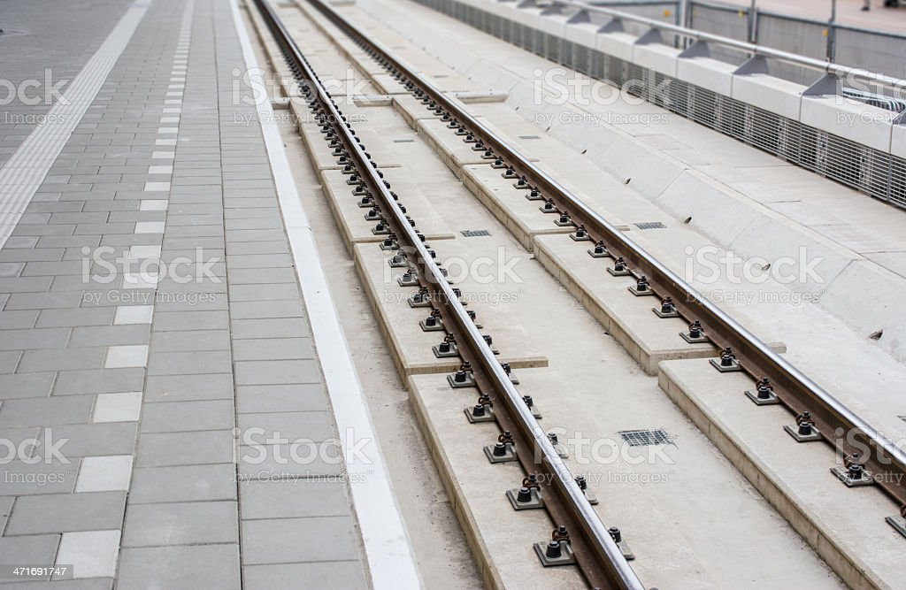 new track stock photo