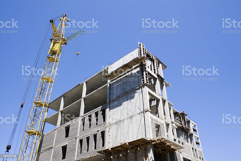 new trading building royalty-free stock photo