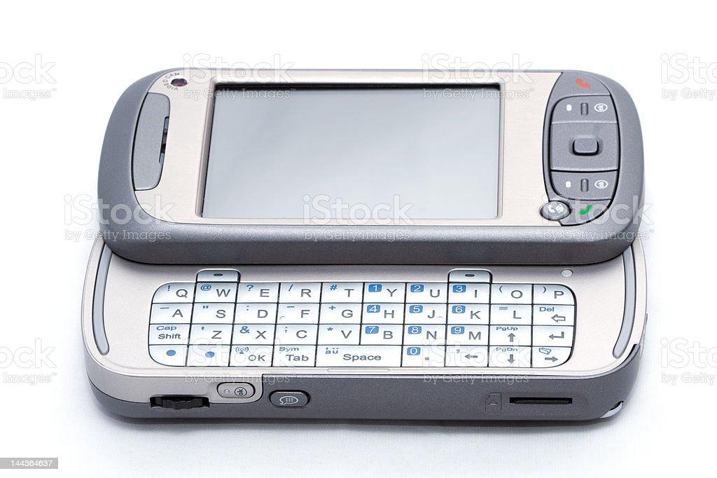new trendy Windows mobile based PDA phone telephone device royalty-free stock photo
