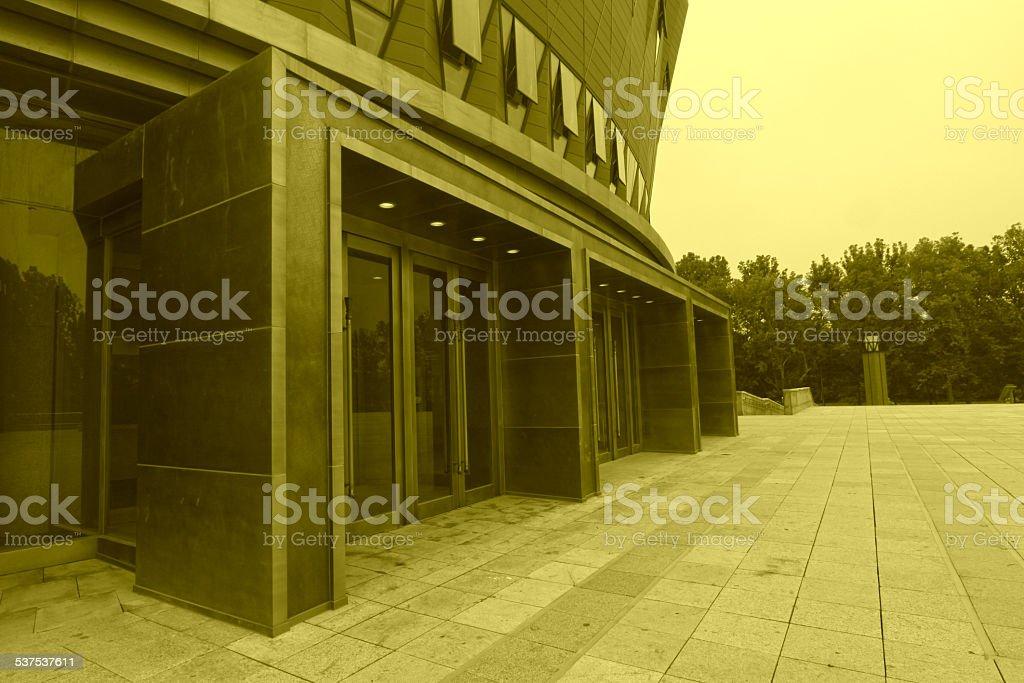 new Tsinghua School stock photo