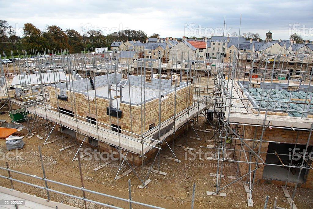 New UK Homes stock photo