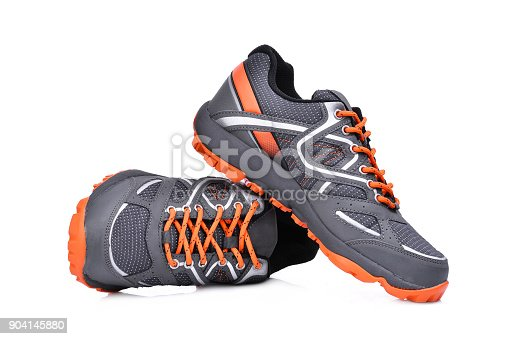 Sport Wallpaper Shoes Outlet: New Unbranded Sport Shoes Isolated On White Background