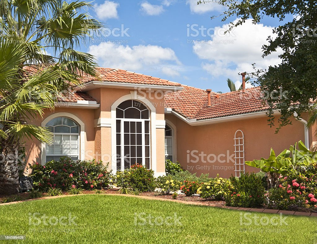 New Upscale Home royalty-free stock photo
