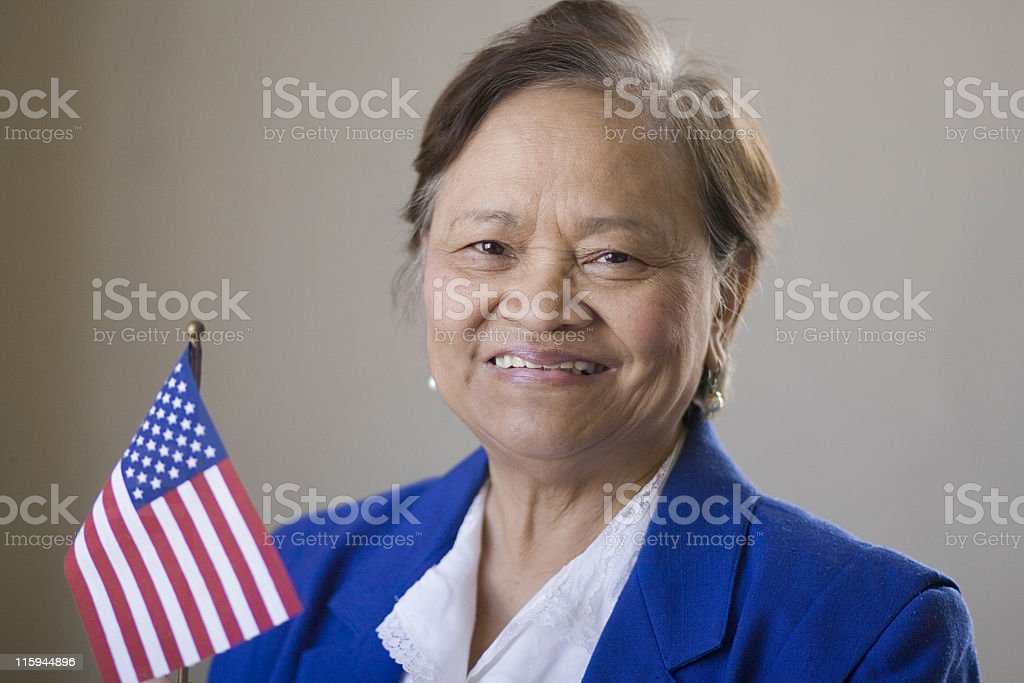 New U.S. Citizen royalty-free stock photo