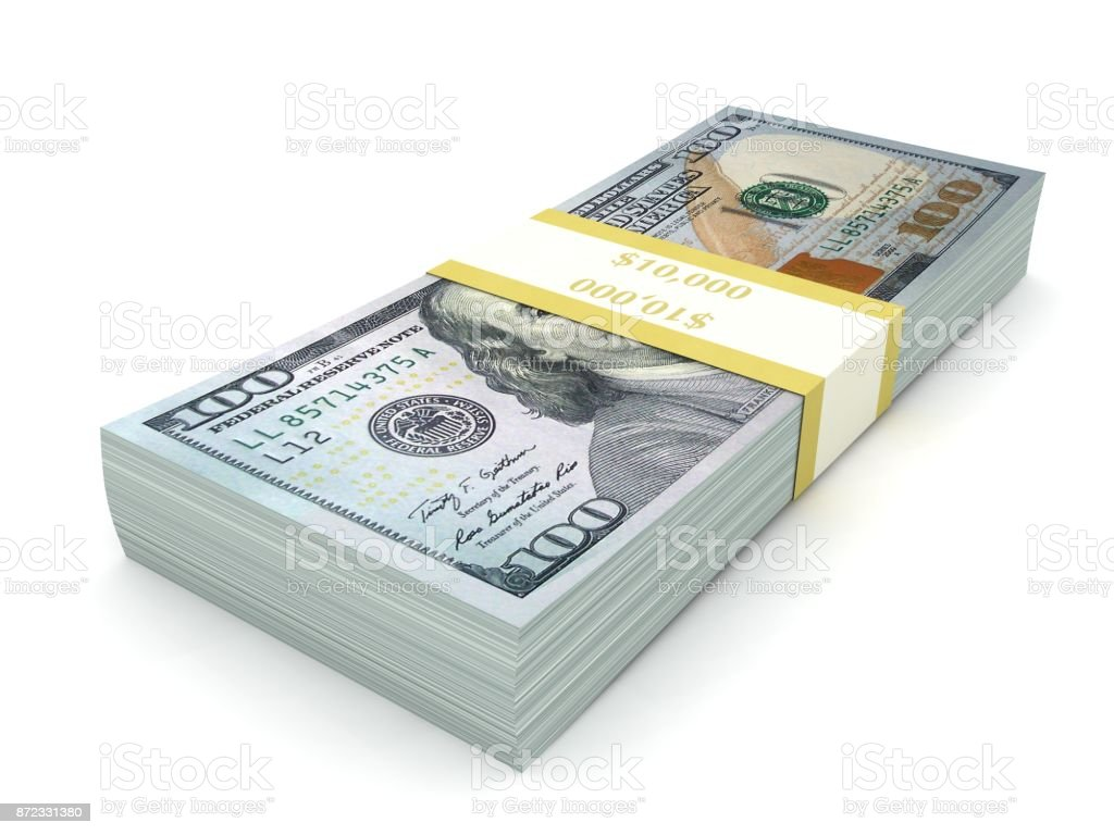 New Us Dollar Money Stock Photo & More Pictures of Bank - iStock
