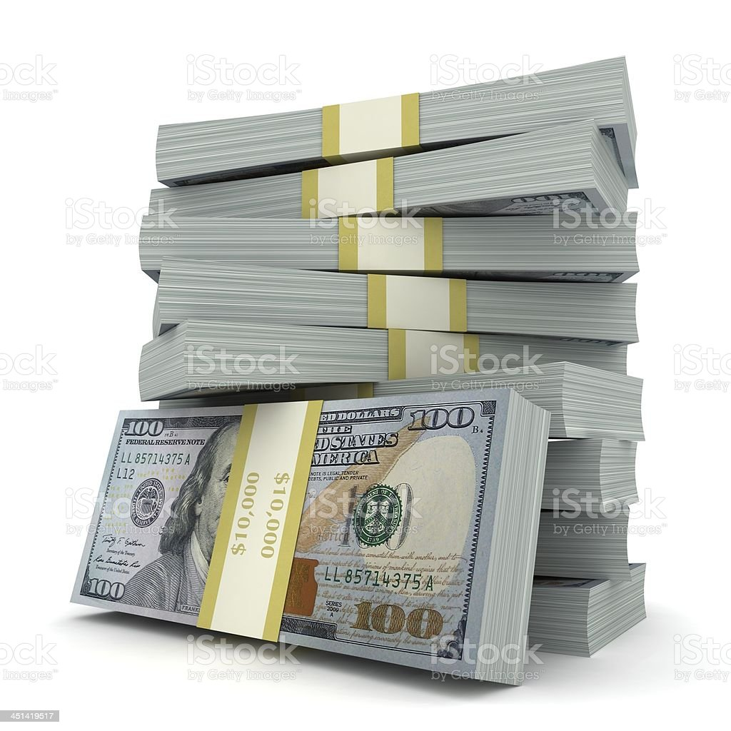 New US Dollars stock photo