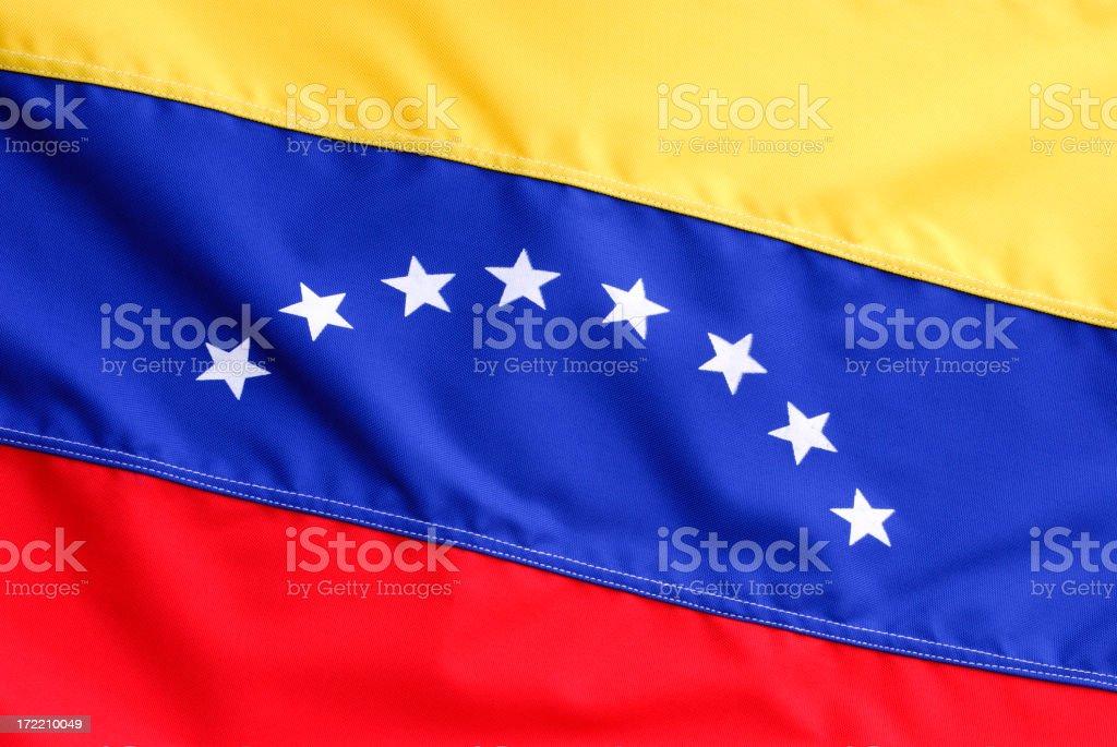 Nueva Venezuela bandera - foto de stock