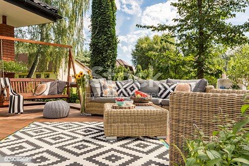 istock New villa patio idea 609089692