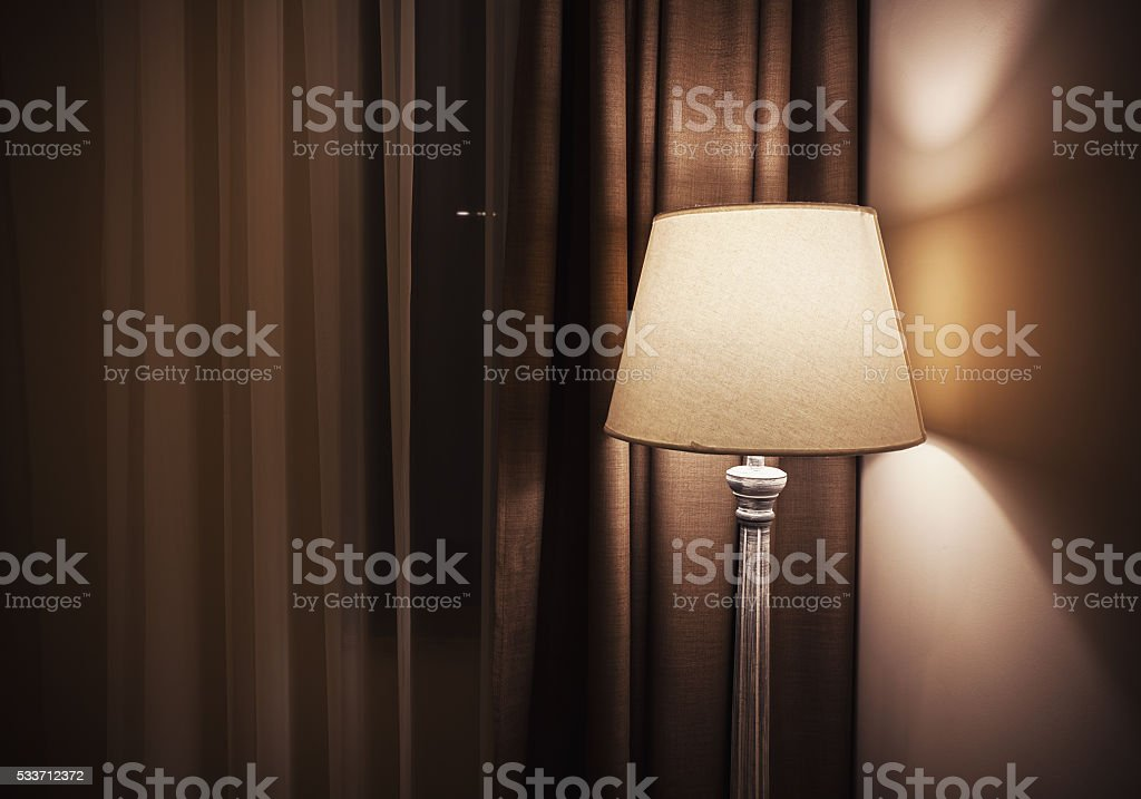 New Vintage Classical Lamp stock photo