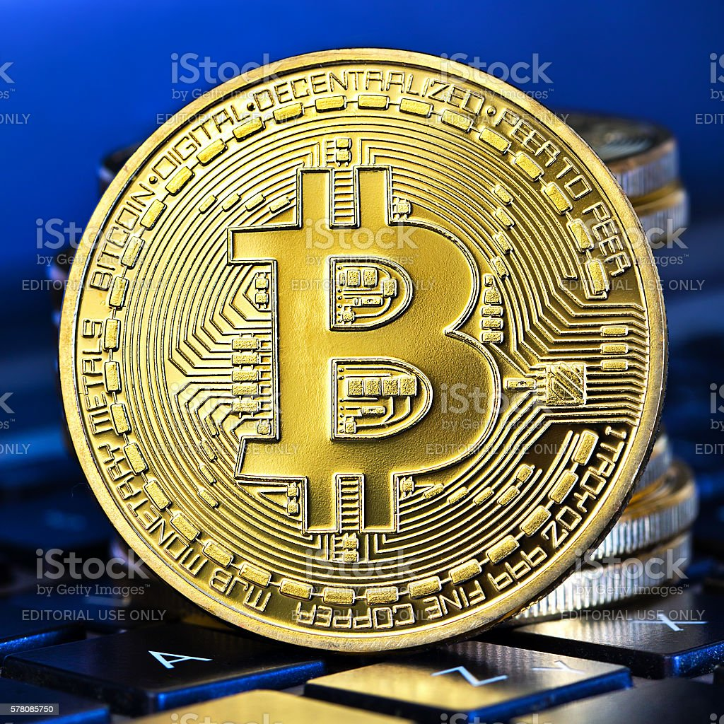 new virtual money stock photo