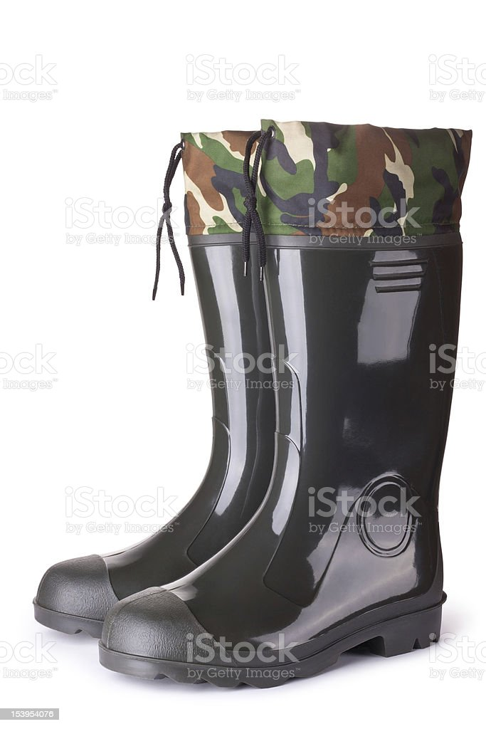 New waders stock photo
