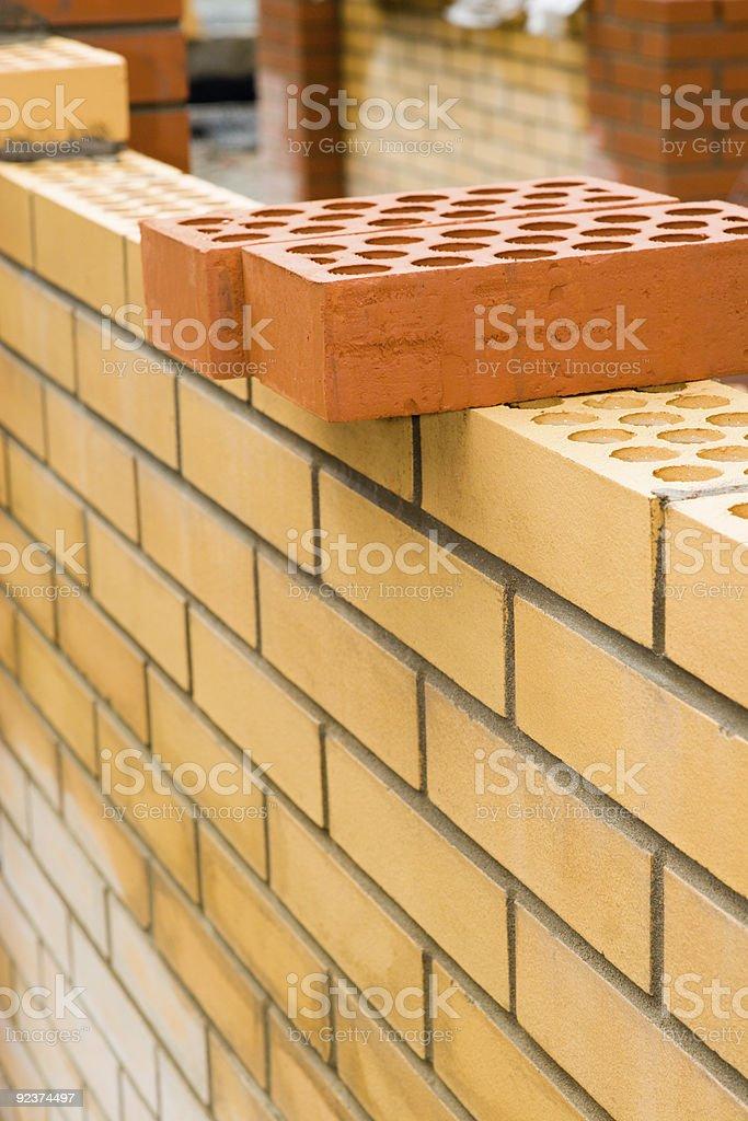 New wall royalty-free stock photo