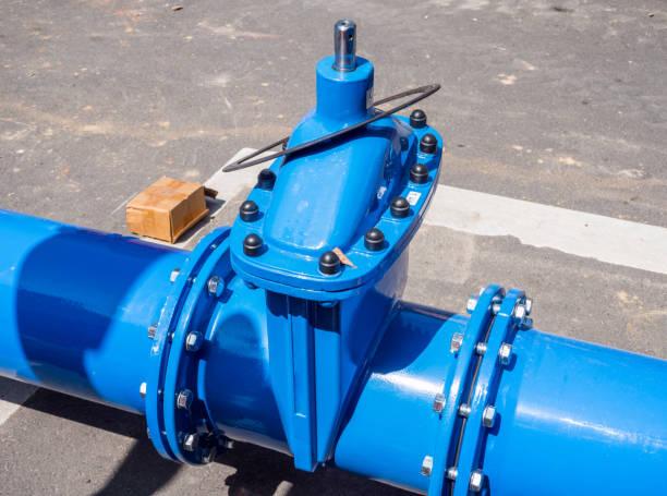 new water pipeline - tap water zdjęcia i obrazy z banku zdjęć