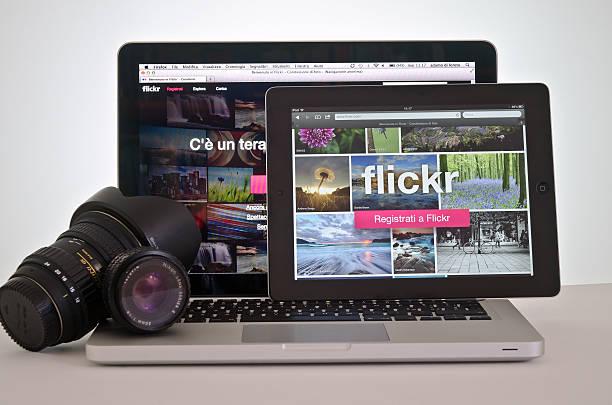 Neue website Flickr – Foto