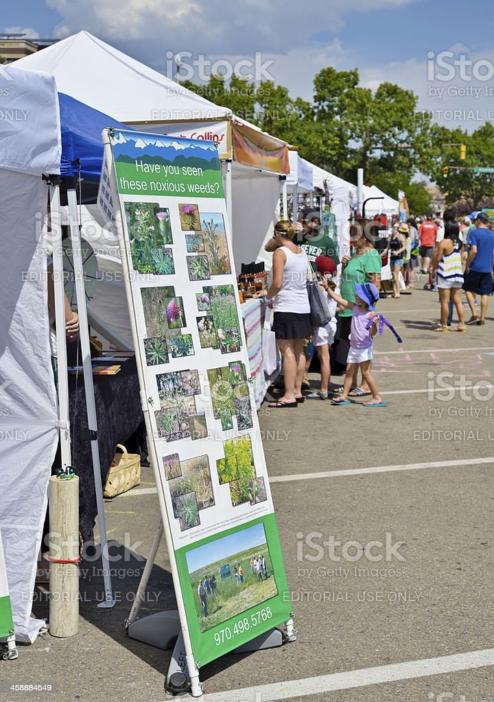 New West Fest 2013, Fort Collins royalty-free stock photo